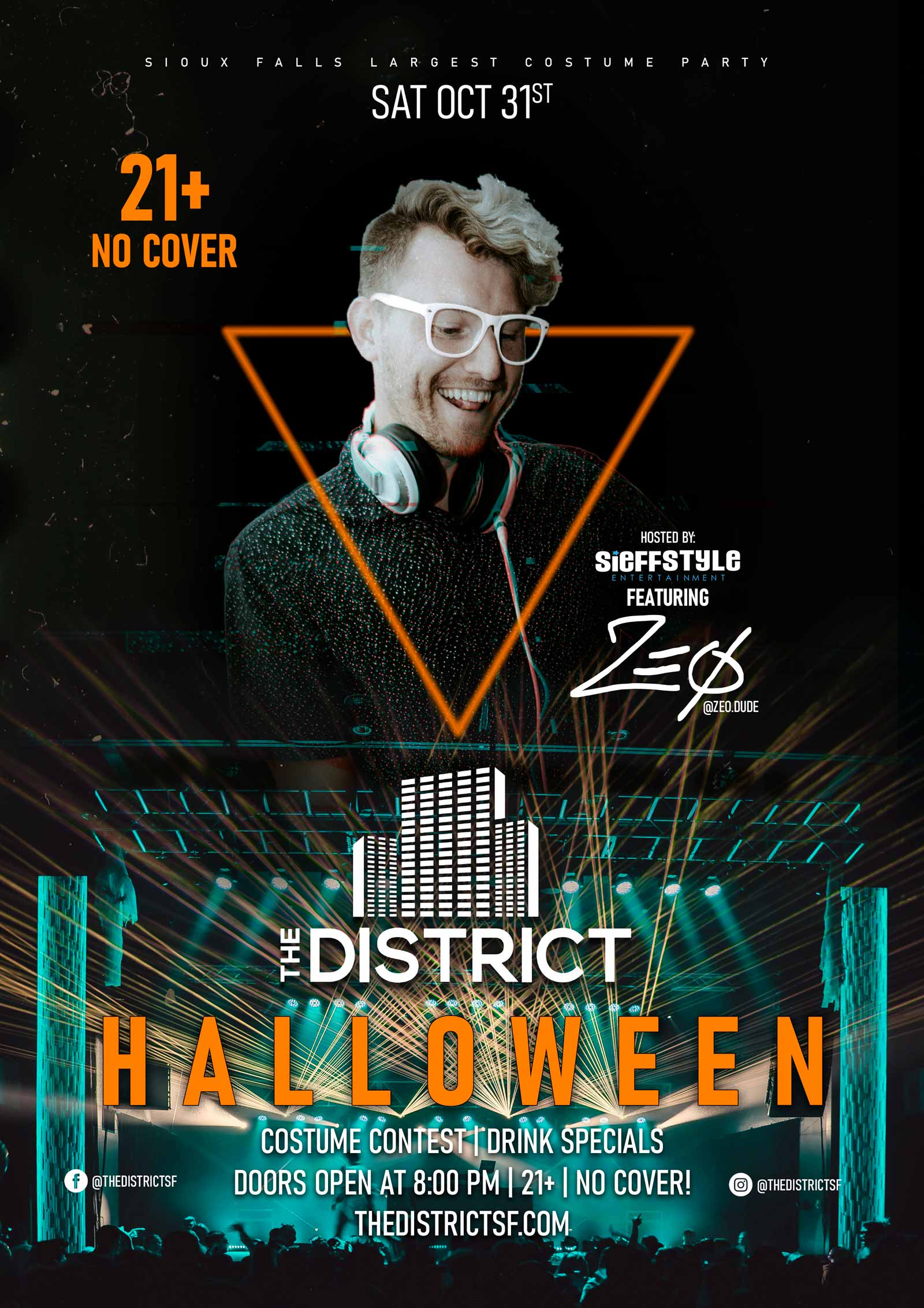 The District Halloween 2020 Sioux Falls Sd Concert, Wedding & Private Event Venue, Large Event Venue | Sioux